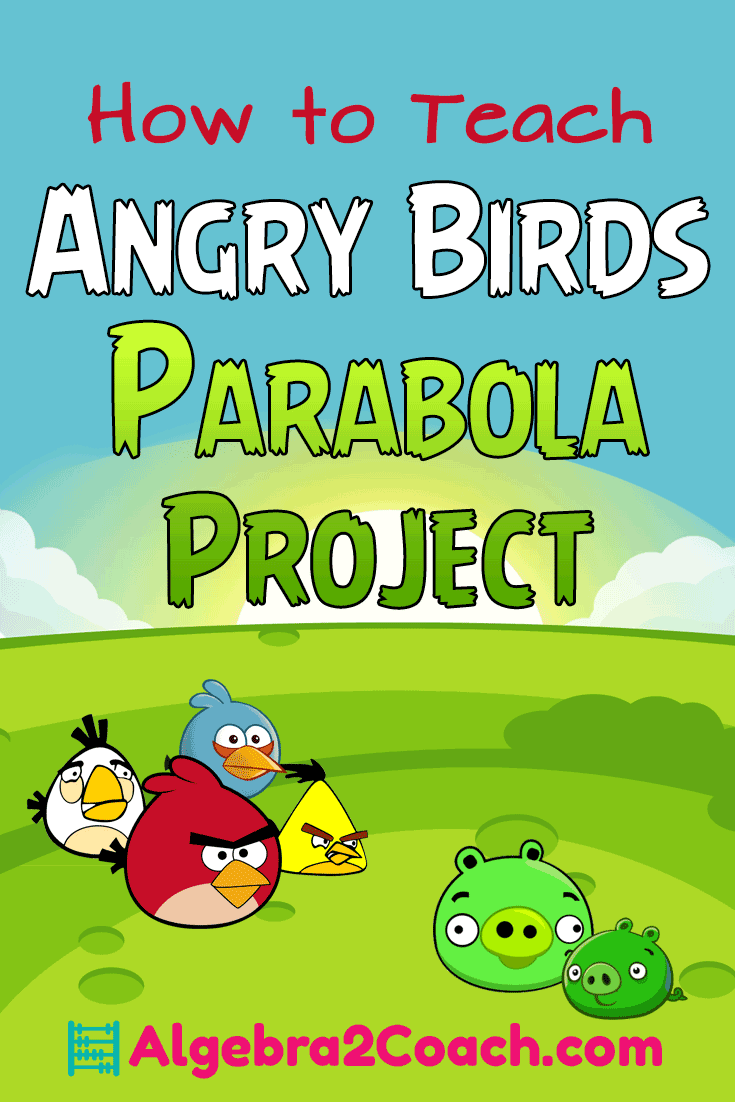 Angry Birds Parabola Project - Pinterest