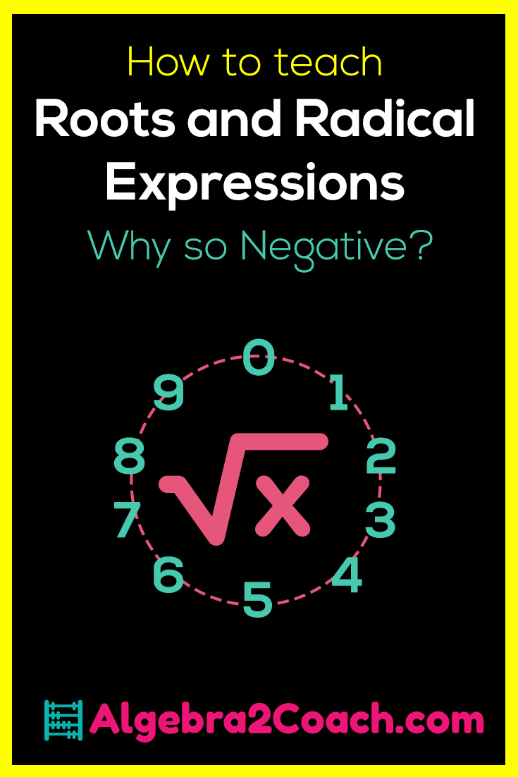 Roots and Radical Expressions