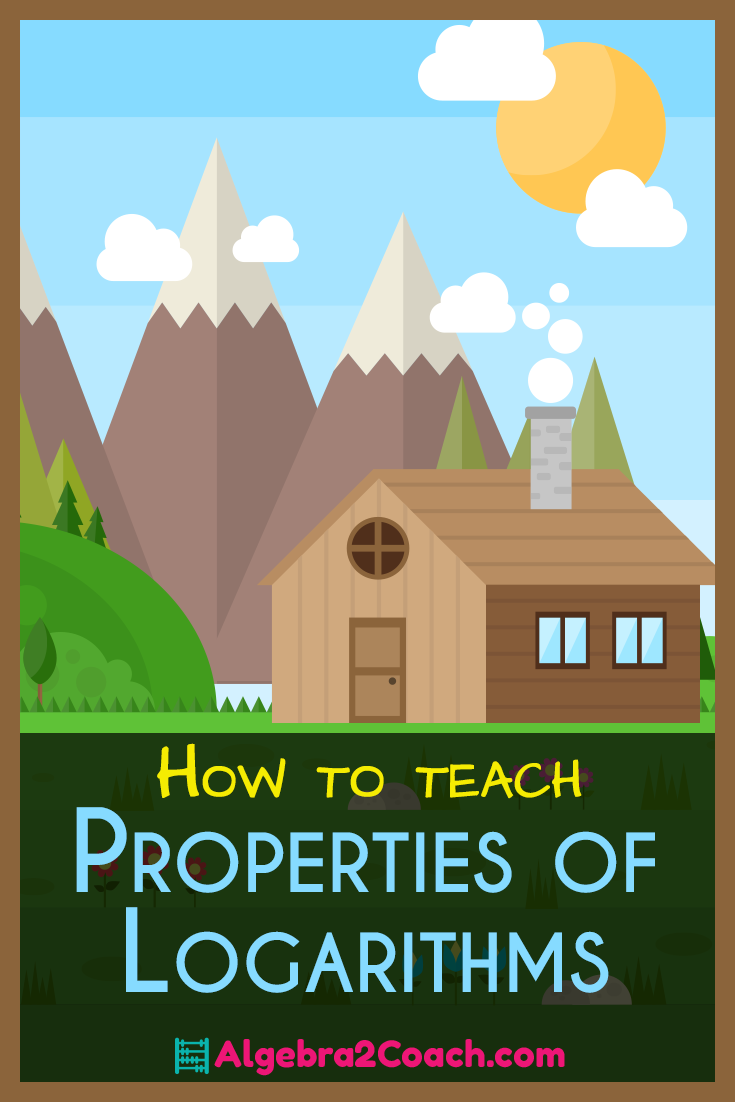 How to Teach Properties of Logarithms - Algebra2Coach.com