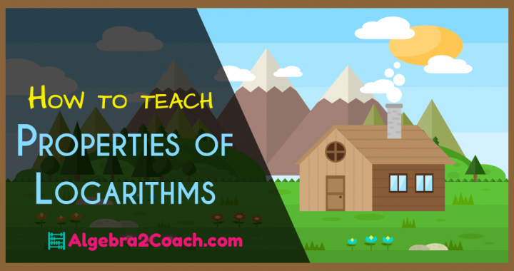 Properties of Logarithms worksheet with answers