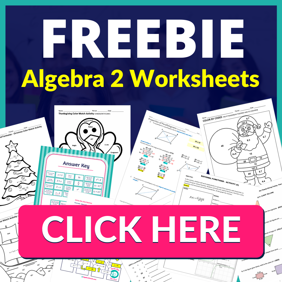 Free Algebra 2 Lesson Plans, Free Algebra 2 Worksheets