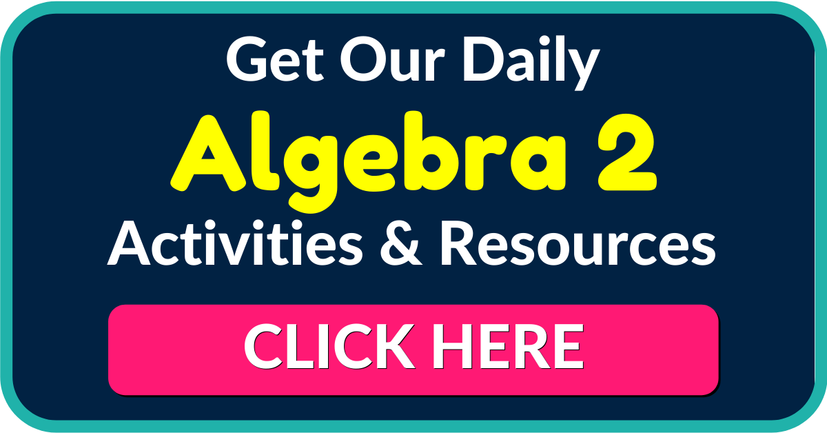 FREE Algebra 2 and Trigonometry Worksheets